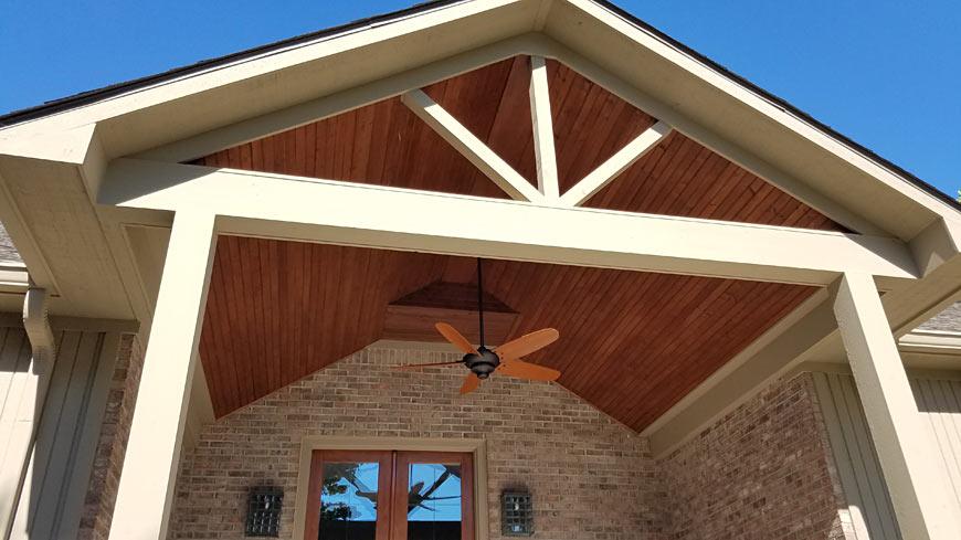 Portico Canopy Addition
