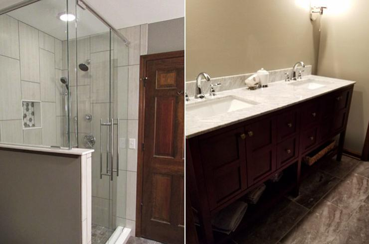 Macinnis Construction, Noblesville Bath Remodel