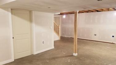 Macinnis Construction, Basement Remodel - Noblesville
