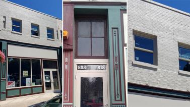 Commercial Facade, Noblesville, Indiana