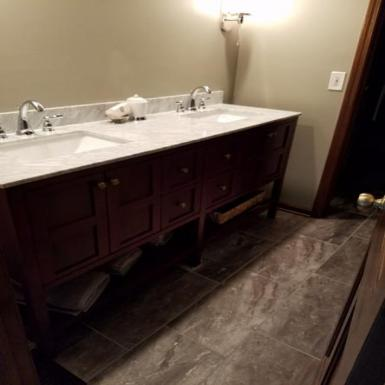 Macinnis Construction, Noblesville Bath Remodel