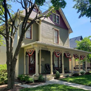 Noblesville IN, Cherry Street Historic Home - Exterior