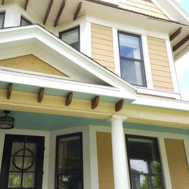 Historic Home, Soffit Work, Macinnis Construction