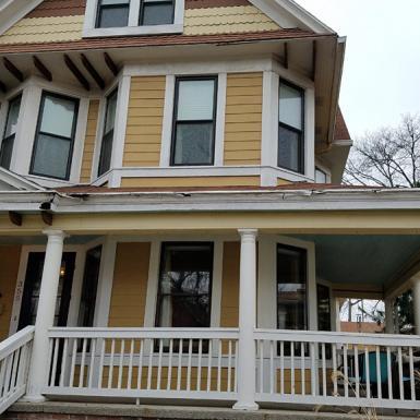 Historic Home, Soffit Work, Macinnis Construction