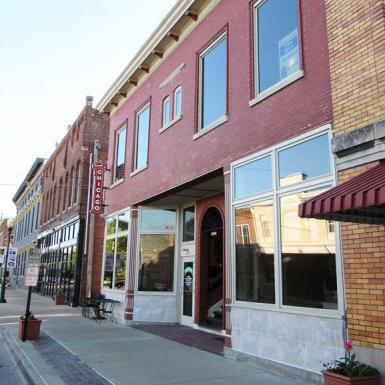 9th Street Commercial Facade, Noblesville, IN